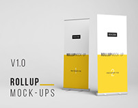 Photoshop Rollup Mockup