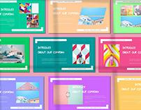 Kiramitsu Pastel Powerpoint Template
