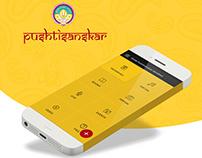 Pushtisanskar App UI/UX Design