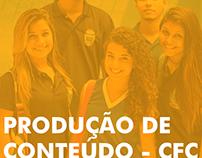 Produção de conteúdo para o Colégio Franklin Carneiro