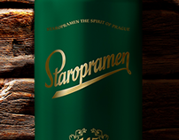 Staropramen 145 Anniversary Package Design