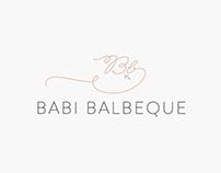 Logotipo • Babi Balbeque
