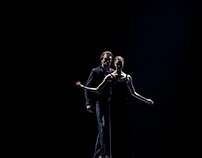 dance photography series: lovers reach