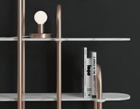 M a r b l e Shelf design