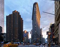 New York. Flatiron. Ful CGI