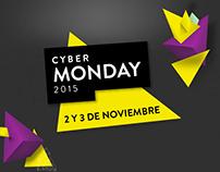 Cyber Monday'15 - Diseño gráfico