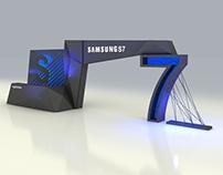 Samsung s7 launch Event design