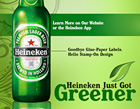 School Project: Imagined Campaign For Heineken