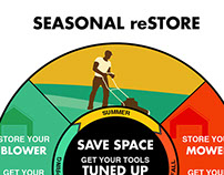 Web Graphics: Seasonal reSTORE