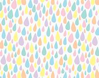 Enjoy the Rain Pattern