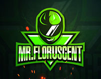 MR.FLORUSCENT | MASCOT LOGO DESIGN