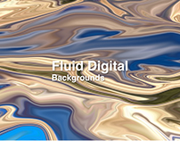 Fluid Digital Backgrounds