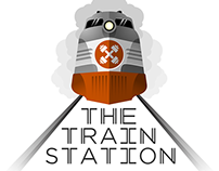 The Train Station Logo
