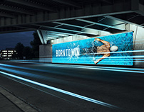 Under the Bridge - Billboard Mock-up with Animation