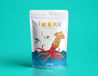 Liuqiu-海龜的故事-Fried Dough Twist & Squid Seafood Snack