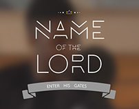 Name of the Lord - a GateFilm production
