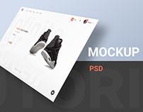 Web Presentation Mockups