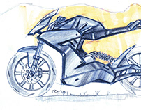 Motorcycle sketches