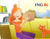 ING - Alışverişçi (Shopper) How to Video Animation