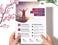 Dev Marketing Business Agency Flyer