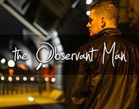 The Observant Man Web Re-Design