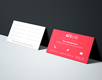 ActLive | Business cards