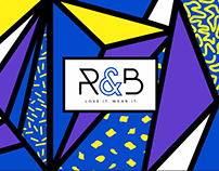 R&B fashion Branding, Social media and digital