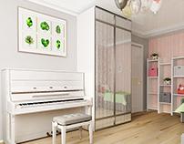 Kidsroom interior design
