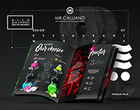 MR.CALLIANO - hookah menu