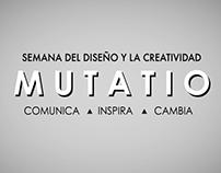 MUTATIO - Semana del Diseño y la Creatividad