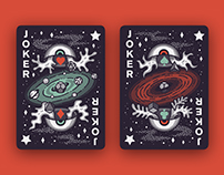 INTO the WEIRD - Playing Cards