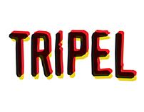 Tripel - Beer Logo