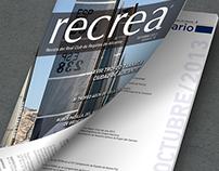 Rediseño Revista RECREA