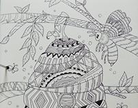 Sketchbook Honeycomb