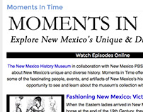 Moments In Time Website Redesign