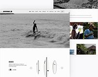 Garage Surfboards Website