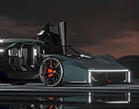 RAW by Koenigsegg Thesis Project