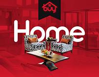 Real estate company Home page design