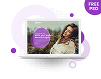 Rotona - Free PSD Template For Creative Website