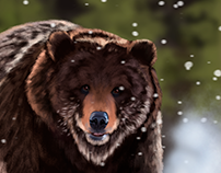 Bear - Quick Painting