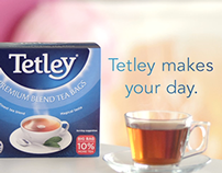 Tetley TV Stings