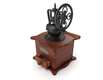 Antique Hand Mill