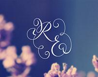 Wedding invitation – R&E