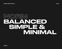 Norm Architects - Website