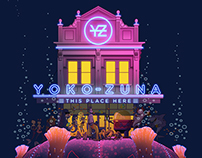 Yoko-Zuna: This Place Here Album Cover illustration