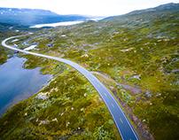 Luchtbeelden Noorwegen 2016