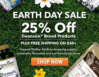 Swanson Earth Day Ads