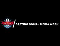 Captino Social Media Work