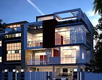 Luxury Apartment Exterior