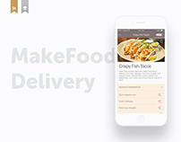 MakeFood – Food Delivery Service